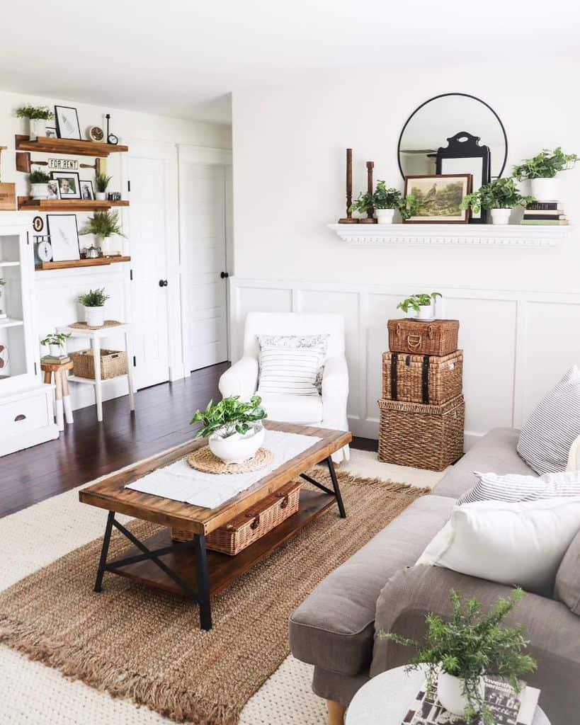 Living Room Modern Farmhouse Decor Freshfarmhousefeels