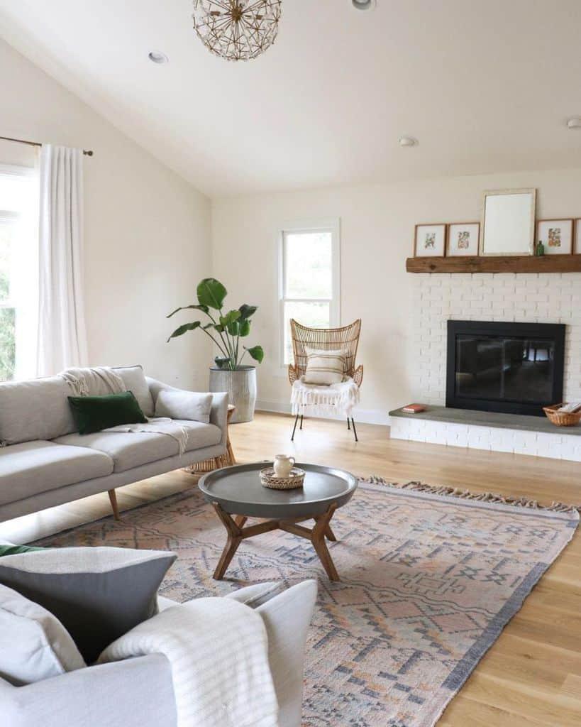 Living Room Modern Farmhouse Decor Rootanddwell