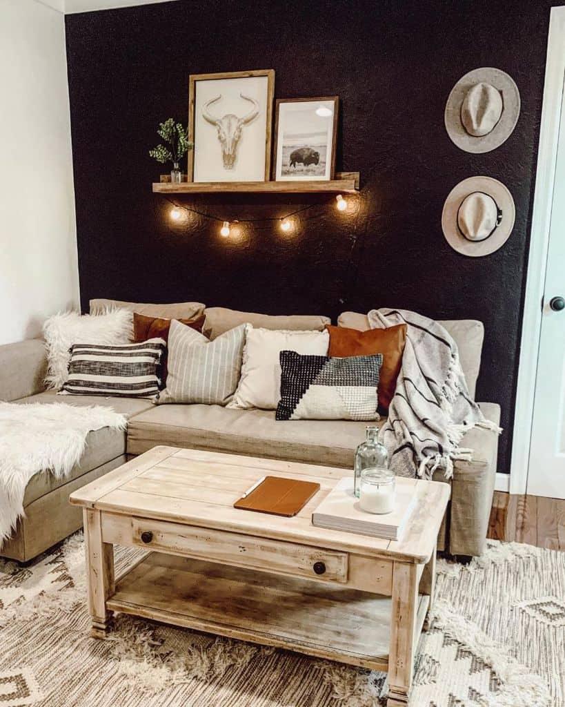 Living Room Modern Farmhouse Decor Sprucingitup