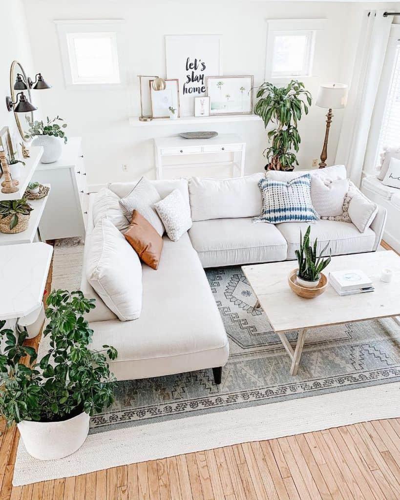 Living Room Modern Farmhouse Decor The.beautyrevival