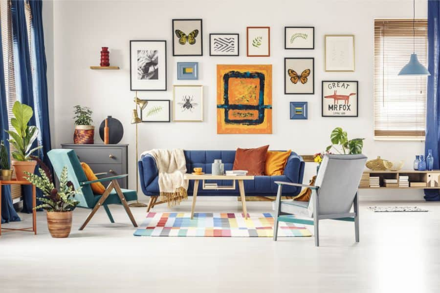 Living Room Picture Wall Ideas 3