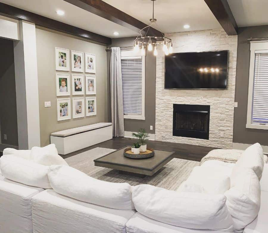 Living Room Picture Wall Ideas Homewithsasa