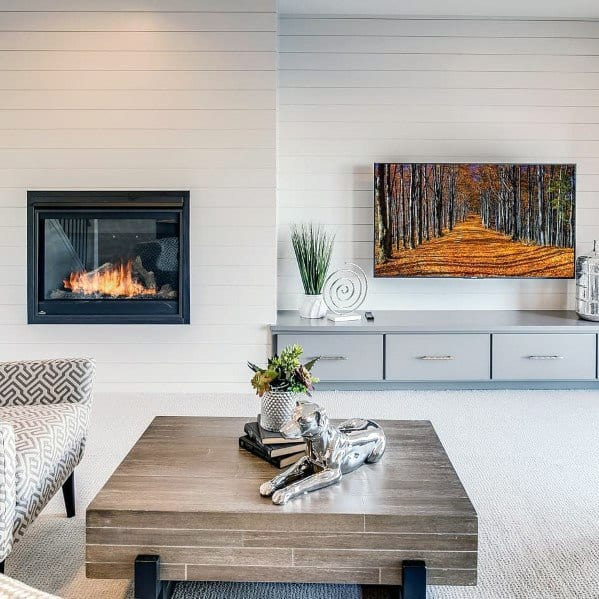 Living Room Tv Wall Shiplap Ideas