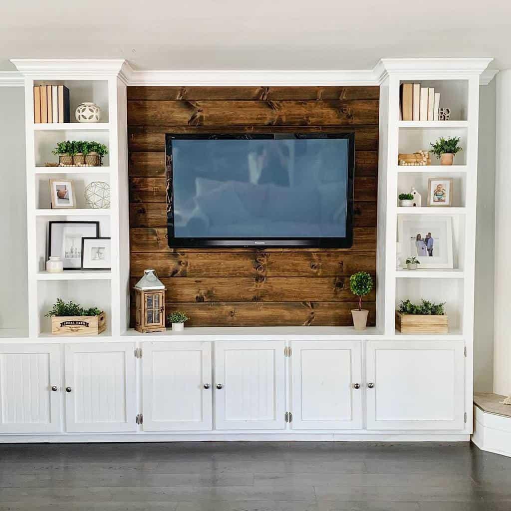 living room wall shelf ideas cali_gray_cottage