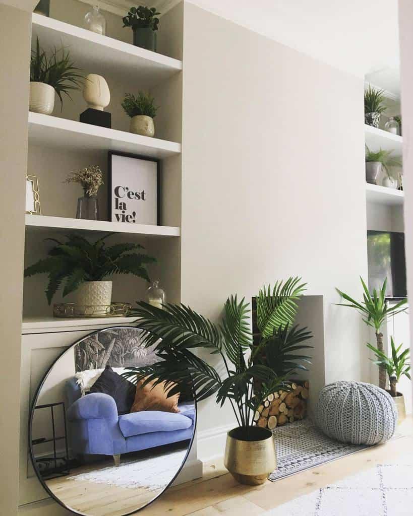 living room wall shelf ideas scandistyleatnumberseven