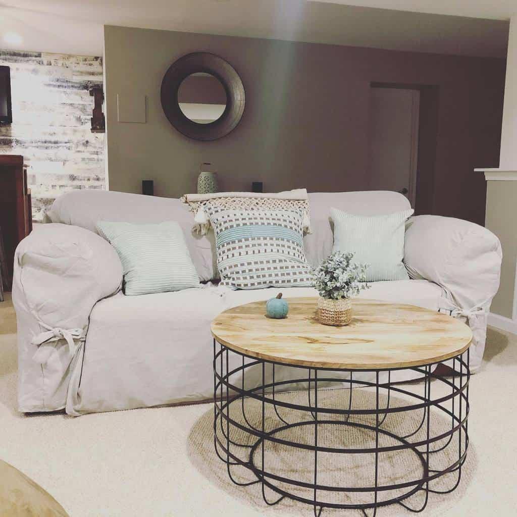 livingroom small basement ideas lisafitzdesign