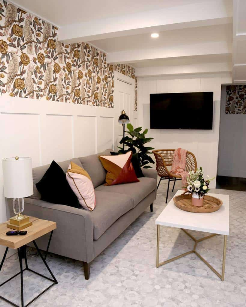 livingroom small basement ideas vfynes