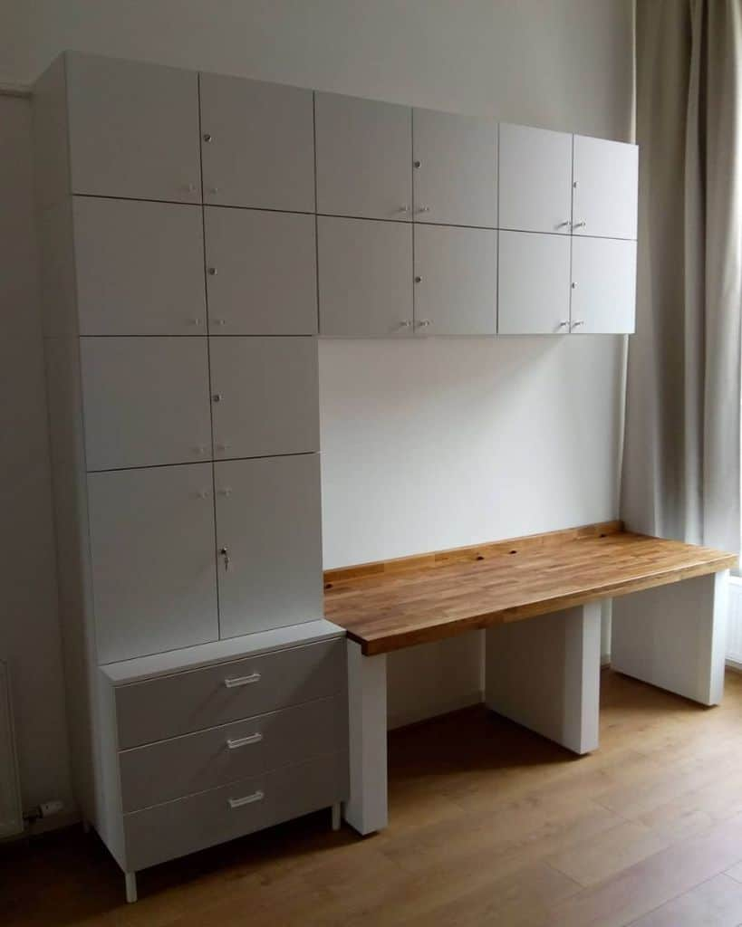 lockable office storage ideas breckenbuild