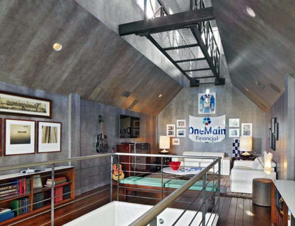 Loft Attic Awesome Man Caves For Men