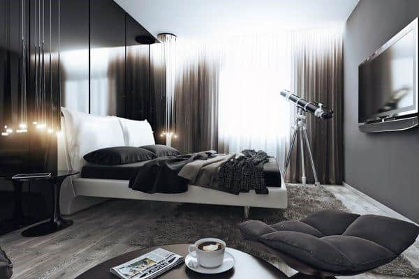 bedroom design for men. Loft Bedroom Ideas For Men 60 s  Masculine Interior Design Inspiration