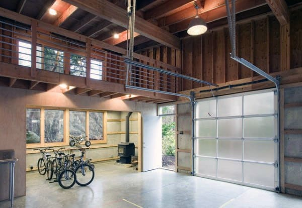 Loft Garage Workshop Ideas