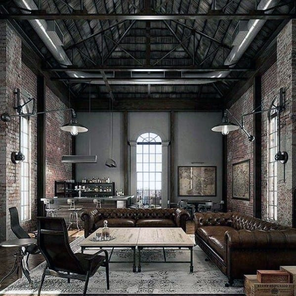 Loft Guys Industrial Ultimate Bachelor Pads