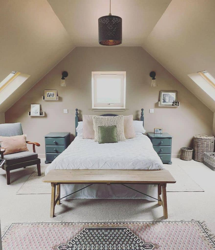 Loft Or Attic Tiny Bedroom Ideas The Cow Shed