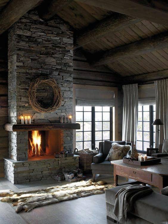 Log Cabin Home Designs Interior