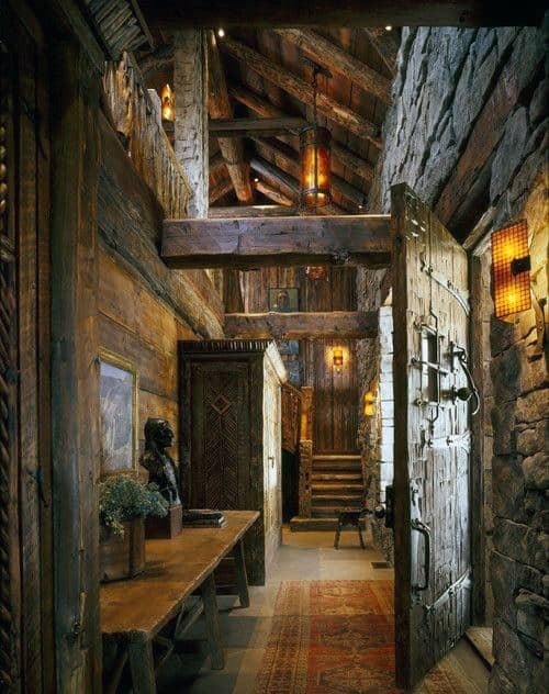 Log Cabin Home Interior Design Inspiration