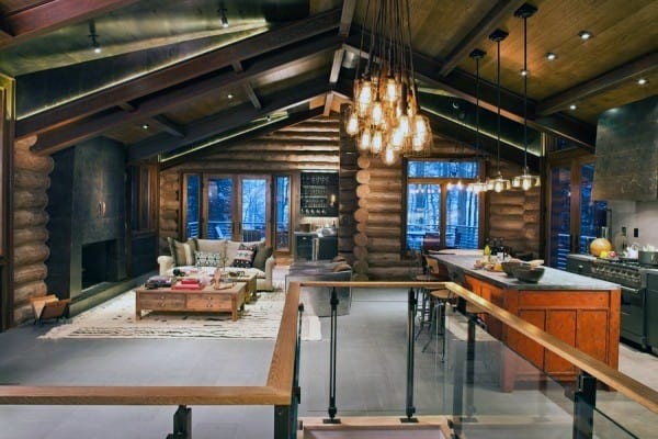 Top 60 Best Log Cabin Interior Design Ideas Mountain