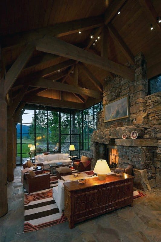 Log Cabin Interior Decor