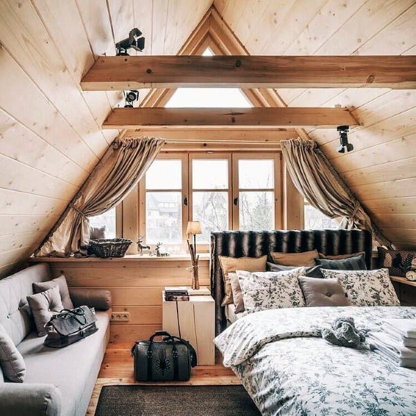 Log Cabin Interior Design Bedrooms