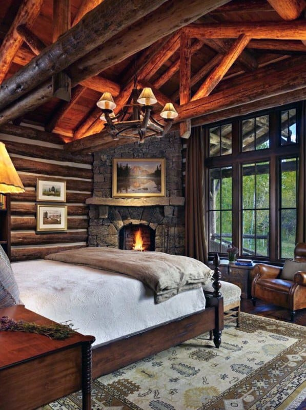 Top 60 Best Log Cabin Interior Design Ideas - Mountain Retreat Homes