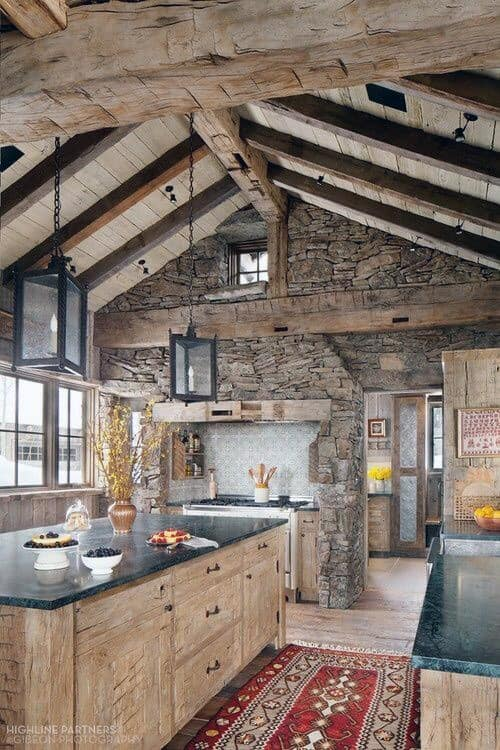 Log Cabin Interiors Designs