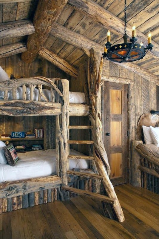 Log Cabin Interiors Walls