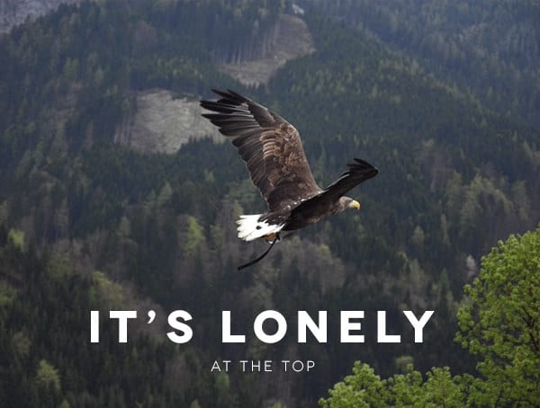 Lonely At The Top How To Be A Successful Businessman