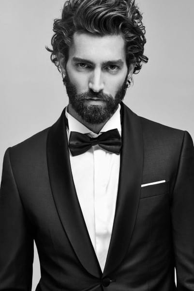 Long And Curly Classy Hairstyles For Men