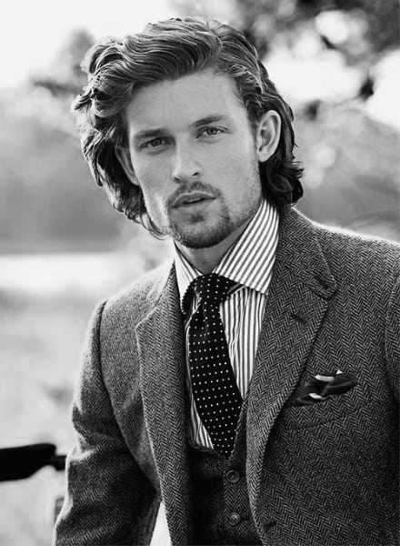 Long Classy Hairstyles For Men