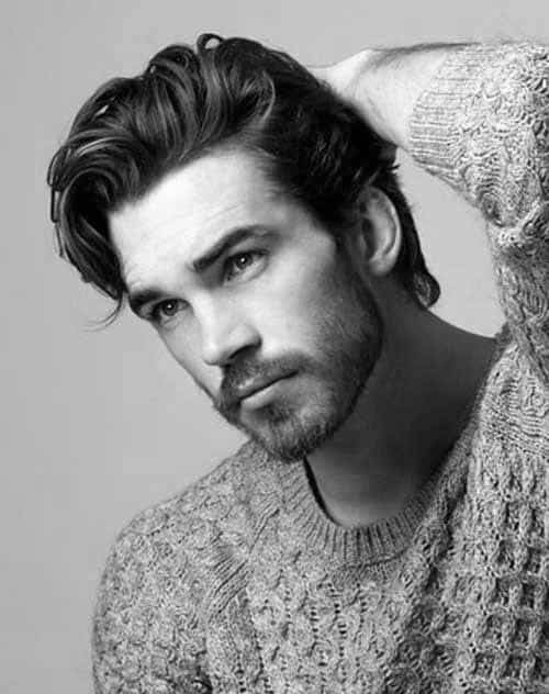 Superb 50 Long Curly Hairstyles For Men Manly Tangled Up Cuts Hairstyles For Women Draintrainus