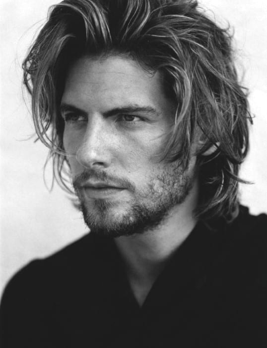 Swell Top 70 Best Long Hairstyles For Men Princely Long 39Dos Short Hairstyles Gunalazisus