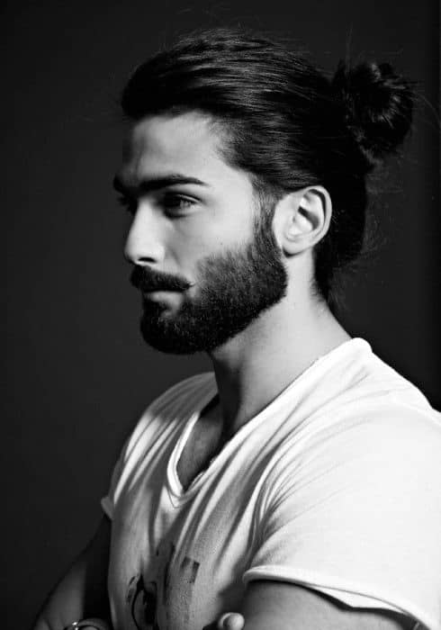 40 Samurai Hairstyles For Men Top Knot Asian Man Buns
