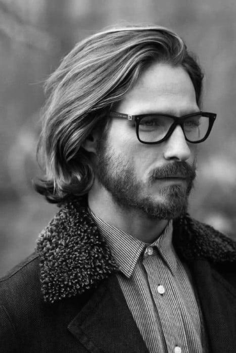 Long Length Mens Classic Haircut Styles