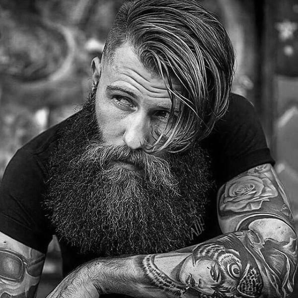 Long Length Old School Haircuts For Males