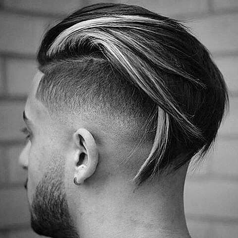 Long Length Slicked Back Trendy Hairstyles For Men