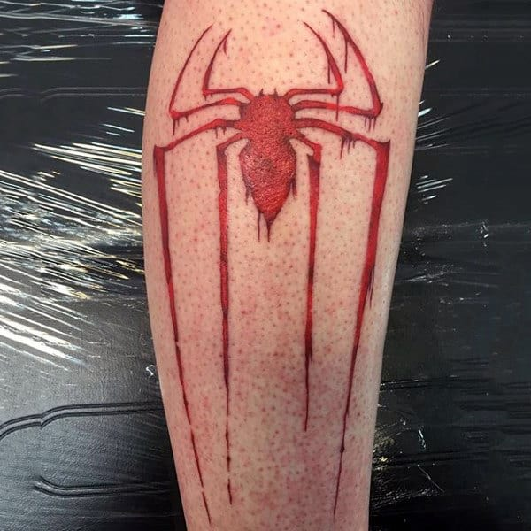 Long Limbed Spider Tattoo Male Forearms