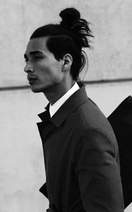 Long Samurai Hair For Males