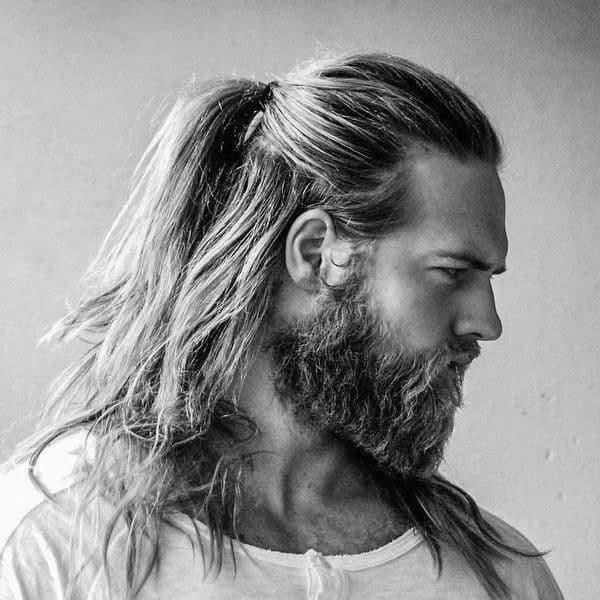 40 Samurai Hairstyles For Men Modern Masculine Man Buns