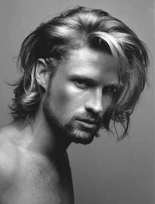 Top 70 best long hairstyles for men princely long dos long short hairstyles for men urmus