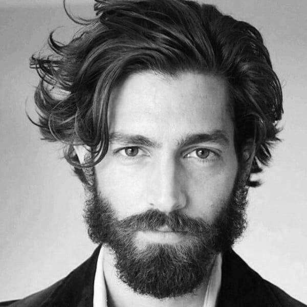 Long To Medium Hair Cuts For Men