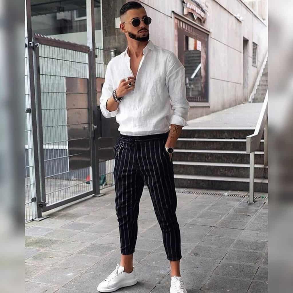 Look du style de mode du jour
