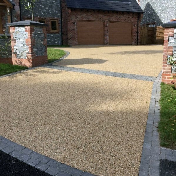 Loose Stone Driveway Ideas