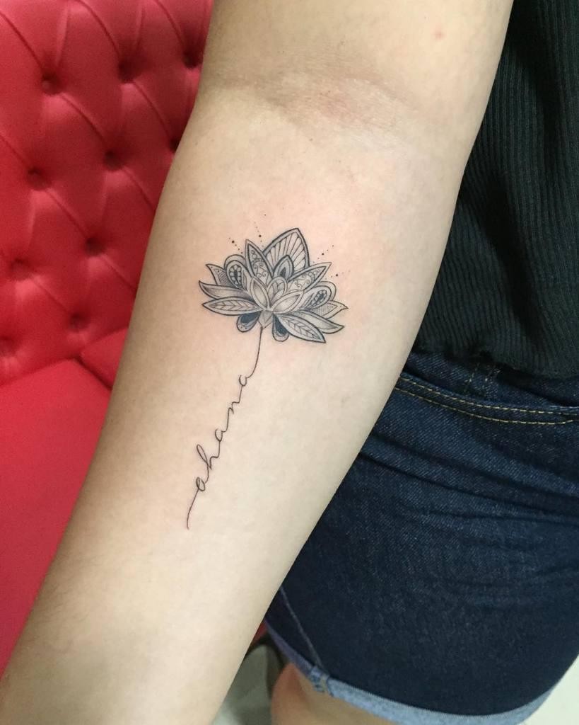Lotus Ohana Tattoo