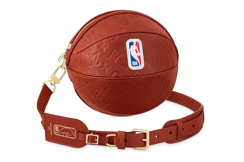 Keep Your Balls Safe With This $4,450 Louis Vuitton x NBA 'Ball in Basket' Bag