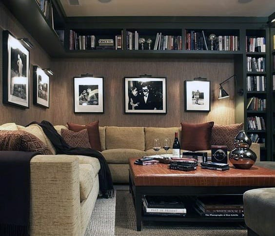 Lounge Awesome Man Caves For Guys