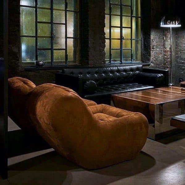 Lounge Bachelor Pad Furniture Deep Lounge Chairs