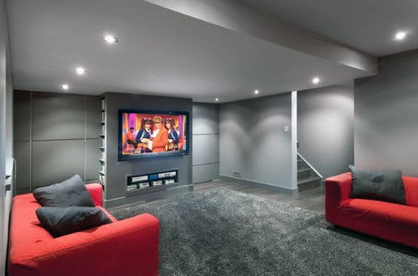 Lounge Room Basement Design