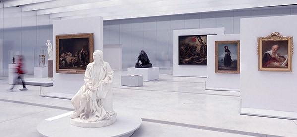 Louvre Museum Inside