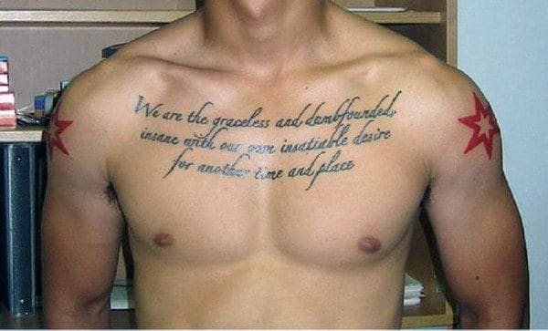 60 Quote Tattoos For Men Expression Of Words Written In Ink New Love Quotes For Men