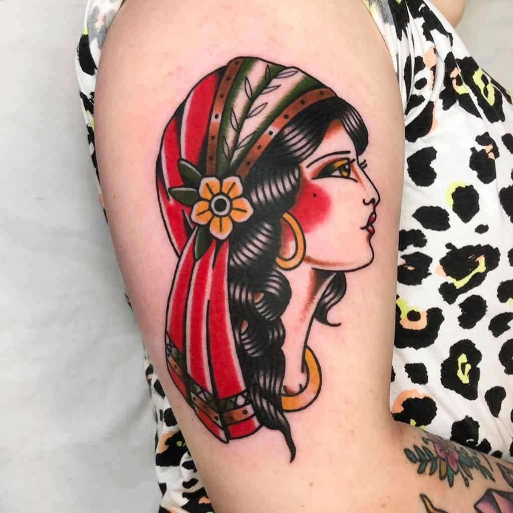Lovely Gypsy Tattoo