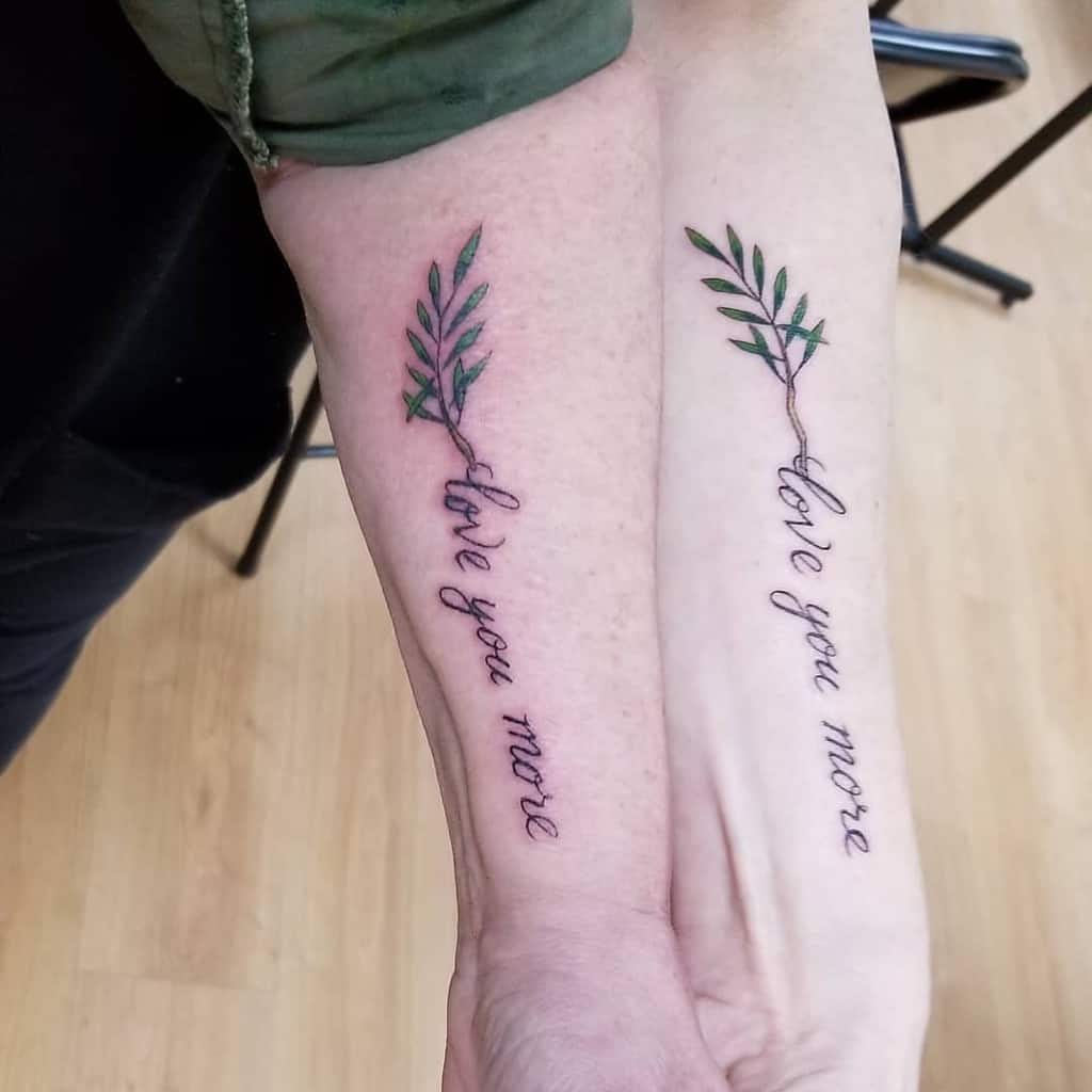 lovely-matching-rosemary-sister-tattoo-paintedpeopletattoos
